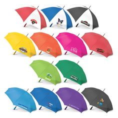 Nimbus Umbrella - Chameleon Print Group  Very affordable 59 cm, eight panel auto open #umbrella with a tough 190T showerproof canopy. Has a Black eight rib metal frame and shaft complete with a soft EVA hand grip. Other features include metal tips, a velcro tie and the option of #fullcolour #printing on the models with white panels. .  http://chameleonprint.com.au/product/nimbus-umbrella/