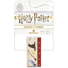 Every Harry Potter fan will recognize these Icons! The package includes 2 rolls of Washi Tape from StickyPix and Paper House Productions. One roll Harry Potter Icons, Harry Potter Houses, Washi Tape Set, Paper Houses, Some Fun, Card Stock, Paper Crafts, Crafting Tools, Sorting Hat