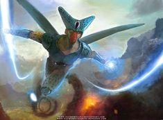 Magnificas ilustraciones de DragonBall por el gran artista español Nacho Molina