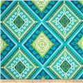 Terrasol Indoor/Outdoor Spanish Tile Peacock