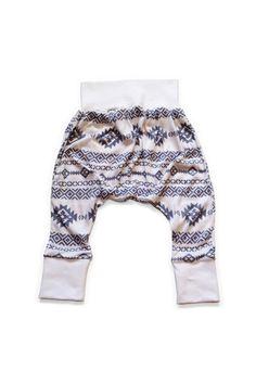 Grey Geo Pants by Brown Sugar Beach via Hatched Baby