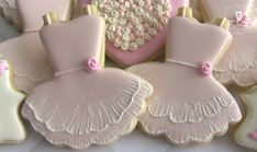 Ballet / Tutu Decorated Sugar Cookies by DolceDesserts on Etsy, $38.00