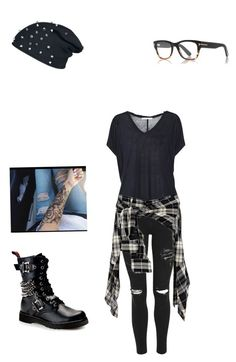 """""""Untitled #39"""" by smolemobean on Polyvore featuring Topshop, Acne Studios and Demonia"""