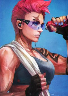 Casual Zarya by MonoriRogue.deviantart.com on @DeviantArt - More at #overwatch #fanart