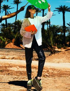 sabrina nait by lucian bor for french revue de modes f/w 13.14
