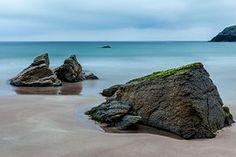 Mar, Escócia, Descanso, Rock, Praia