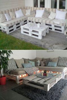 Best Indoor Garden Ideas for 2020 - Modern Palette Furniture, Pallet Furniture Designs, Pallet Garden Furniture, Diy Outdoor Furniture, Diy Furniture, Outdoor Decor, Pallet Designs, Furniture From Pallets, Rustic Furniture