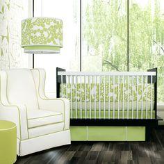 Oilo Crib Bedding Set Modern Berries Spring Green #laylagrayce #destinationinspiration #hawaii