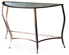 One Kings Lane - Make an Entrance - Laurentia Console, Brass