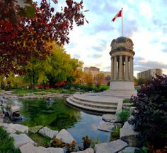 Old City Hall Clock Tower - Victoria Park - Kitchener, ON