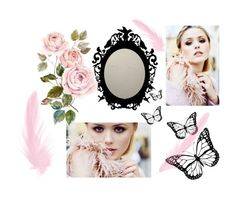 """Rosa"" by oona-laajola on Polyvore featuring art"