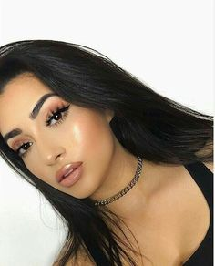 Gorgeous Makeup: Tips and Tricks With Eye Makeup and Eyeshadow – Makeup Design Ideas Makeup On Fleek, Kiss Makeup, Prom Makeup, Cute Makeup, Gorgeous Makeup, Pretty Makeup, Hair Makeup, Makeup Goals, Makeup Inspo