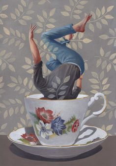 WOULD YOU LIKE TO HAVE A CUP OF TEA? BY ALBERTO MACONE