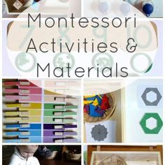 Montessori Activities and Materials Racheous Lovable Learning