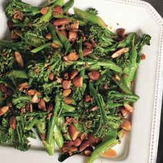 or this (@Holly Neff )Broccolini with Smoked Paprika, Almonds, and Garlic  Or both?