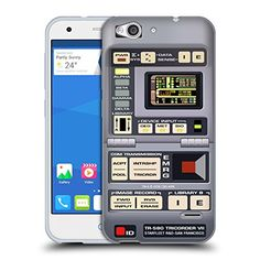 Official Star Trek Tricorder Gadgets TNG Soft Gel Case for ZTE Blade S6 * See this great product. (Note:Amazon affiliate link)