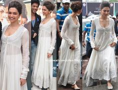 Deepika Padukone In Anamika Khanna at 'Chennai Express' Trailer-Launch