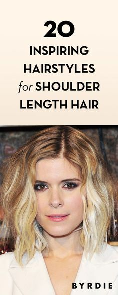 20 Inspiring Hairstyles for Shoulder Length Hair