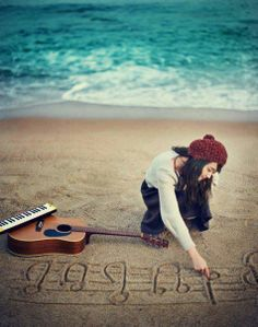 Music drawn in the sand may be washed from the beach, but its imprint will remain on the heart of the songwriter.