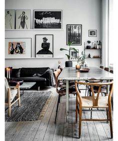 "Polubienia: 586, komentarze: 3 – LABEL Magazine (@labelmagazine) na Instagramie: ""Sztuka we wnętrzu ❤️ #mood #design #archilovers #artlover #interior #interior #inspiration…"""