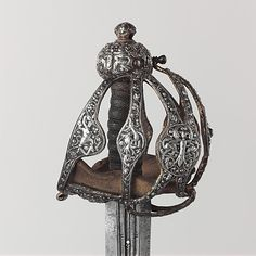 Basket-hilted Sword, 1600–1625. English. The Metropolitan Museum of Art, New York. Gift of Alan Rutherford Stuyvesant, 1949 (49.163.6) #sword