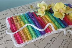 CROCHET PATTERN PDF Love Knot Crochet Hook Organizer - Crochet Hook Case - Permission To Sell Finished Items. $5,50, via Etsy.