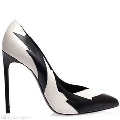 SAINT LAURENT  http://www.SocietyOfWomenWhoLoveShoes.org