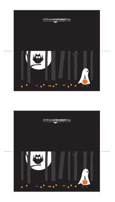 FREE printable halloween treat bag topper and more party printables