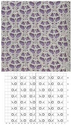 How to Knit Lace Hearts Knit Stitch Easy Free Knitting Pattern + Video Tutorial by Studio Knit via by Bea Anderson - JFK TFT Baby Knitting Patterns, Lace Knitting Stitches, Knitting Charts, Lace Patterns, Knitting Designs, Stitch Patterns, Crochet Patterns, Knitting Needles, Free Knitting