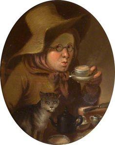 Edward Bird (British, 1772–1819) - Tea, 1795 - Oil on panel