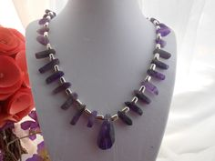 Shapes of Amethyst by KsJewelryBox on Etsy, $45.00