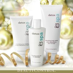 #BeautiControl has #gifts for everyone on your list! #Relax this holiday with a little #detox!  www.beautipage.com/getthelook