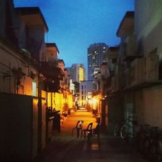 Tiong Bahru at night