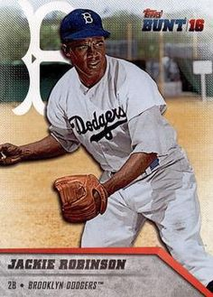 2016 Topps Bunt #61 Jackie Robinson Front