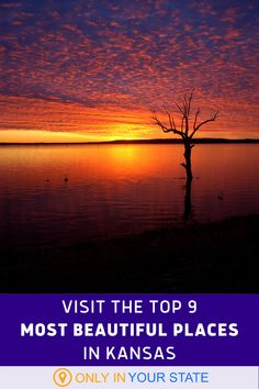 These beautiful places in Kansas are awaiting your next visit, but have you crossed them all off of your list yet? Best Bucket List, Adventure Bucket List, Great Places, Beautiful Places, Hidden Beach, Slip And Fall, Local Attractions, Vacation Ideas, Waterfalls