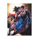 Justice League Comic Cover #12 Variant Canvas Print #Superman