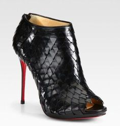 Christian Louboutin Bianca 160mm Platforms Black and red Is The First Choice As A Gift For You Forever!just $115
