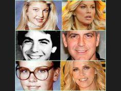 El antes y después de los famosos - para practicar la descripción física y el imperfecto