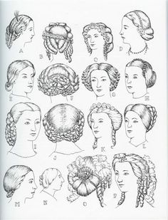 1850s women's hairstyles   1860 hair styles   Antique clothing 1860   Pinterest