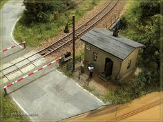 Model Homes, Layout, House Styles, Outdoor Decor, Mockup, Trains, Dioramas, Model Trains, Garden Railroad