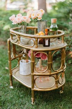 Bar cart inspiration! #cointreausoiree @cointreau_us