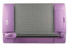 "Westcott TrimAir 45MM Rotary Titanium Paper Trimmer, 12"", Violet - Paper Trimmers"