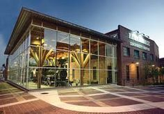 Refurbished CPR Roundhouse now serves as the Yaletown Community Center.