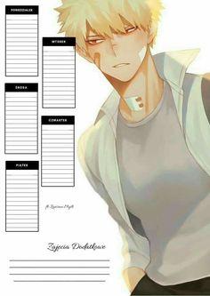 Anime Diys, Diy Notebook Cover, Otaku Room, Notes Template, Diy Calendar, Killua, Note Paper, Bts Wallpaper, Boku No Hero Academia