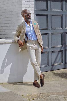 Business Casual Black Men, Smart Casual Men, Business Casual Attire, Fashion For Men Over 50, Mature Mens Fashion, Mens Fashion Suits, Mens Linen Jackets, Blazer Outfits Men, Outfits Hombre