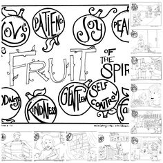 """Get the whole """"Fruit of the Spirit"""" coloring book with this no-hassle PDF http://buff.ly/1a515bG"""