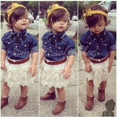 This is a cute Zaylie outfit! Just needs some cowgirl boots! Oh yeah!
