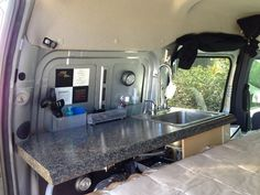 By Christy Dean Four months ago I moved out of my 2 bedroom home and into this tiny (mobile) house. I'm traveling the country in my little nest and I love it! It gets a lot of attention wherever I go and gets great gas mileage for a roaming home – 25 mpg! The van…