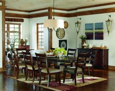 Hindell Park Table & 8 Chairs