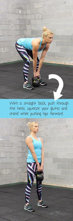 how to kettlebell deadlift